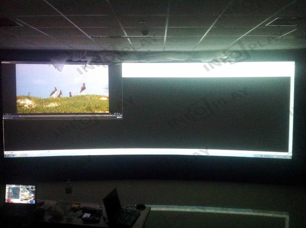 卫星公司应用大屏幕